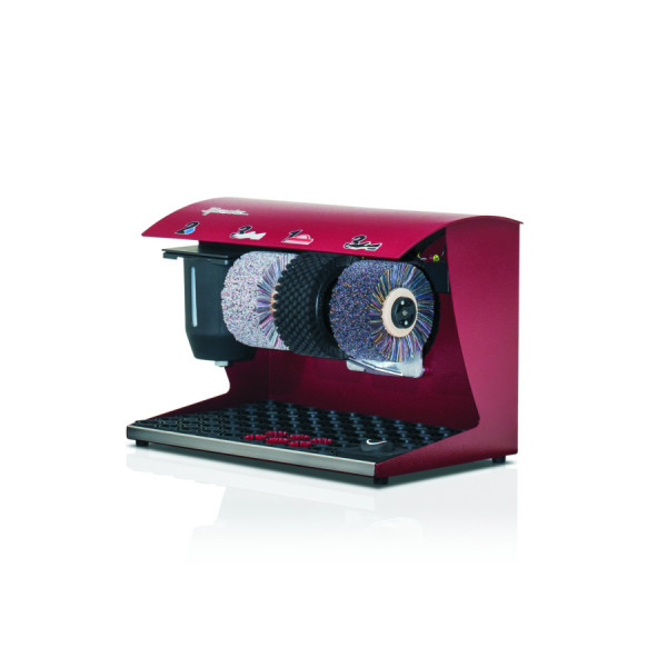 Schuhputzmachine Couleur Bordeaux