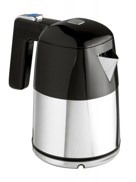 Wasserkocher Diva Chrom/Schwarz 1 L