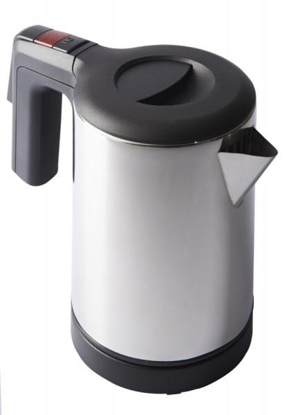 Wasserkocher Edelstahl gebürstet