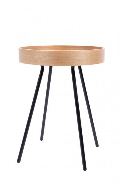 Beistelltisch Holz 46 cm natur eiche