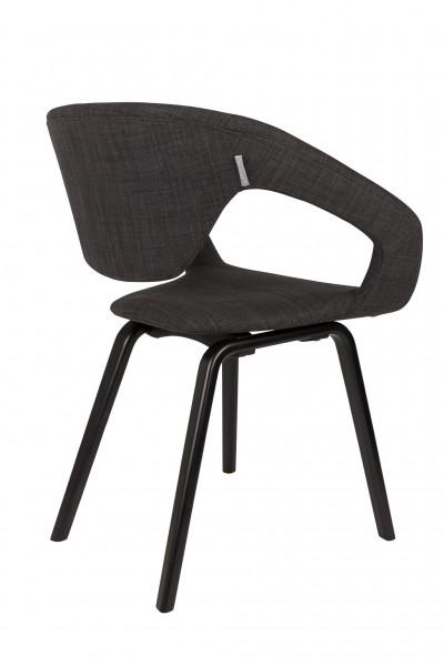 Flexback Stuhl schwarz anthrazit