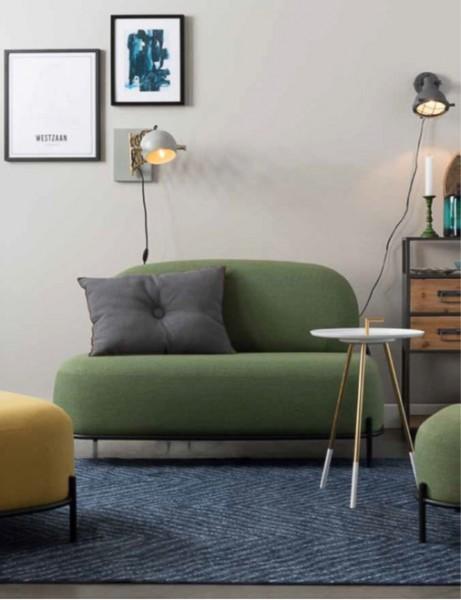 Polly Sofa 2 Sitzer grün